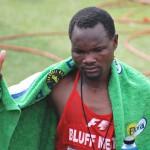 Muzhingi, der erschöpfte Sieger