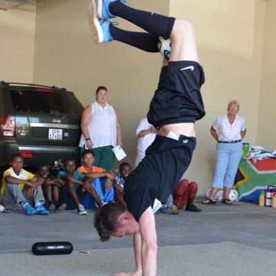 Artistik und Akrobatik ohne und