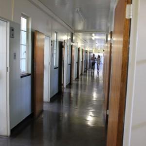 Corridor of cells